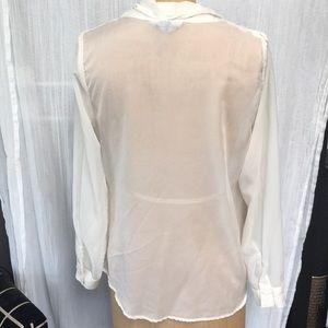 Nasty Gal Tops - Nasty Gal Sheer Long Sleeve Shirt